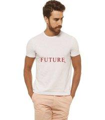 camiseta joss estampada - future2 vermelho - masculina