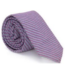 gravata algodão cosmos - roxo