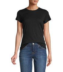 vince women's short sleeve t-shirt - coastal blue - size s