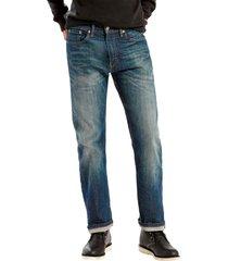 calça jeans levis masculino 505 regular indigo escura
