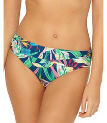 bleu by rod beattie it's a jungle out there sarong hipster bikini bottoms women's swimsuit