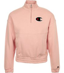 sweater champion half zip sweatshirt