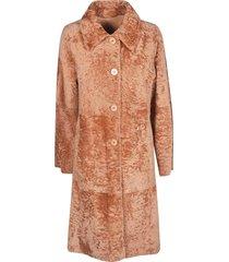 drome long buttoned coat