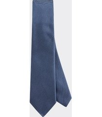 tommy hilfiger men's slim wid microprint tie navy/blue -