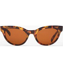 womens only have eyes for you tinted sunglasses - brown