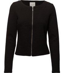 vinaja new short jacket- noos blazer svart vila