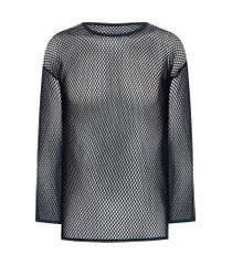 blusa masculina underwear manga longa - preto