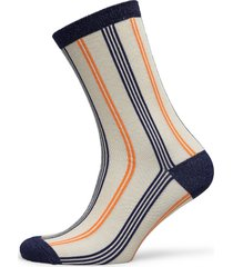 slfvida sock b lingerie socks regular socks grå selected femme