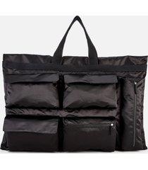 eastpak x raf simons men's poster tote bag - black satin
