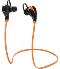 audífonos bluetooth manos libres inalámbricos, g6 audifonos bluetooth manos libres  inalámbrico auriculares estéreo deportes mp3 música manos libres sudor (naranja)