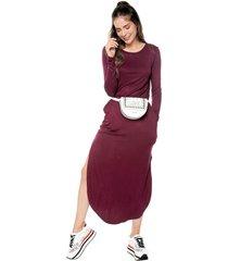 vestido violeta active