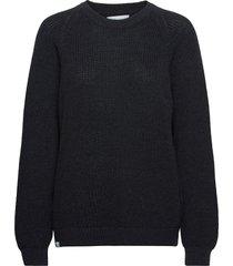 linnea knit gebreide trui blauw makia