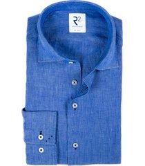 r2 amsterdam overhemd kobaltblauw mf 112.wsp.003/012