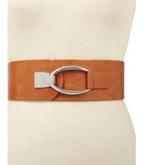 inc interlocking-hook stretch belt, created for macy's