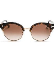 alissa 54mm clubmaster sunglasses