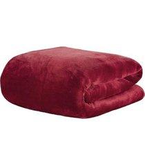 cobertor manta blanket 600 wine queen - kacyumara - vinho - dafiti