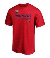 majestic florida panthers men's locker room prime t-shirt