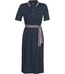 korte jurk tommy hilfiger brenna reg polo dress 1/2 slv