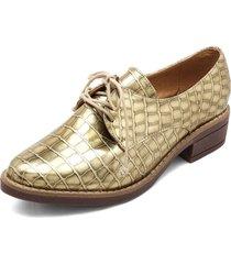 zapato charol dorado heels.d