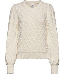 alva sweater gebreide trui crème twist & tango