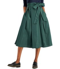 weekend max mara tie-belt skirt