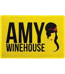 capacho amy winehouse amarelo 0,40x0,60m - beek