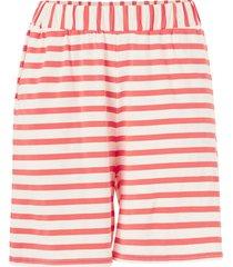 shorts i mjuk trikå