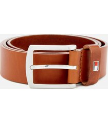 tommy hilfiger men's new denton belt 3.5 - dark tan - 100cm/xl - tan