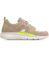 camper drift, sneaker uomo, beige/giallo, misura 46 (eu), k100579-001