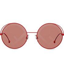 ff 53mm round sunglasses