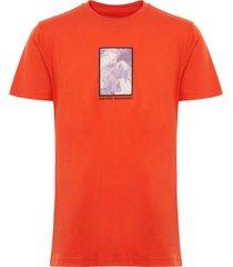 maharishi orange kintaro tee 8903
