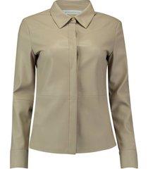 blouse tanner beige