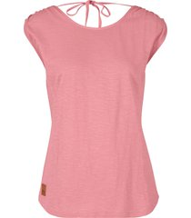 top in jersey con scollo sulla schiena (rosa) - bpc bonprix collection