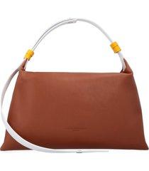 simon miller puffin leather handbag