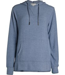new hacci knit hoodie