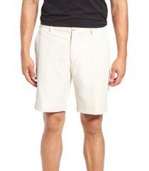 men's peter millar salem high drape performance shorts, size 42 - beige