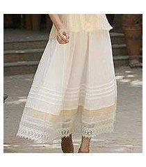 cotton skirt, 'glamorous summer' (india)