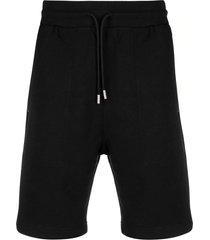 1017 alyx 9sm black cotton blend shorts