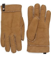 tenney shearling & suede gloves