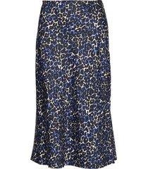 mila skirt knälång kjol blå storm & marie
