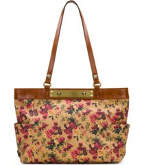 patricia nash coated linen canvas ria tote