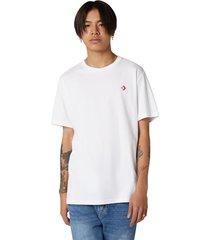 converse camiseta de manga corta exploration team white
