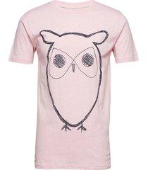 alder big owl tee - gots/vegan t-shirts short-sleeved rosa knowledge cotton apparel