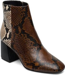 layla shoes boots ankle boots ankle boot - heel brun aldo