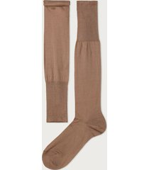 calzedonia tall egyptian cotton socks man nude size 12m