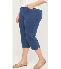 the knit jean capri (with pockets)