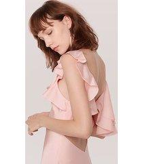 pale pink the oscar dress