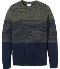 maglione con taglio comfort (verde) - bpc bonprix collection