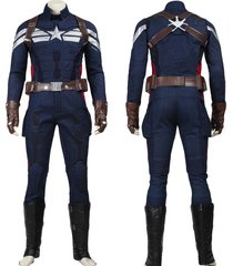 captain america 2 winter soldier superhero outfit men halloween costume
