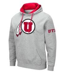 colosseum utah utes men's big logo hoodie